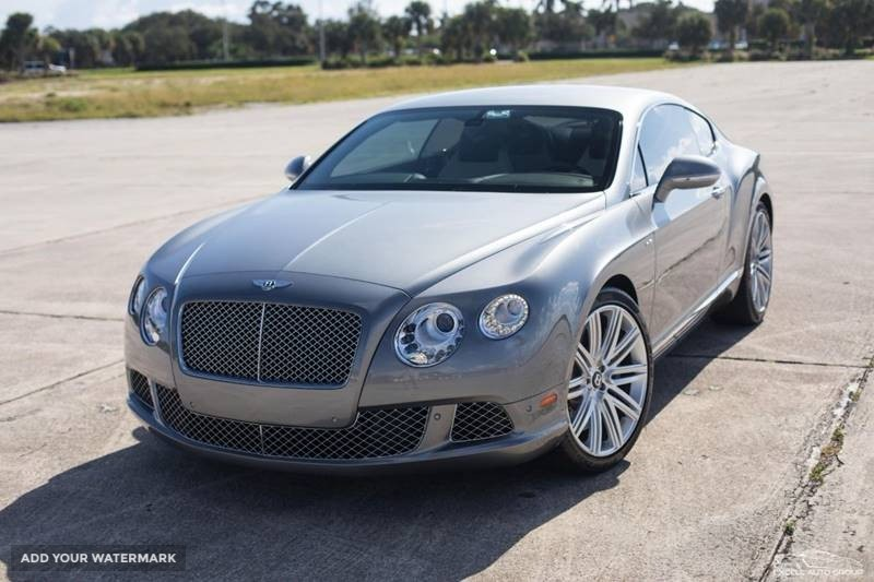 2013 Bentley Continental - AWD GT Speed 2dr Coupe